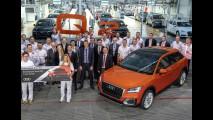 SUV caçula da marca, Audi Q2 começa a ser produzido na Alemanha