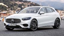 2018 Mercedes A-Class render