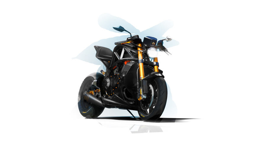 Ariel previews hotter Ace R motorcycle