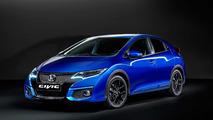 Honda Civic Sport azul