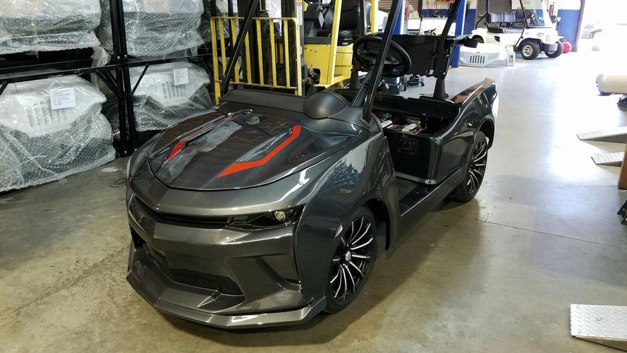 Bu Chevy Camaro ile canınız golf oynamak isteyecek