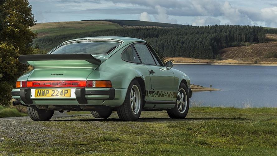 Restore edilmiş 1975 Porsche 911 Carrera MFI sürüşe hazır
