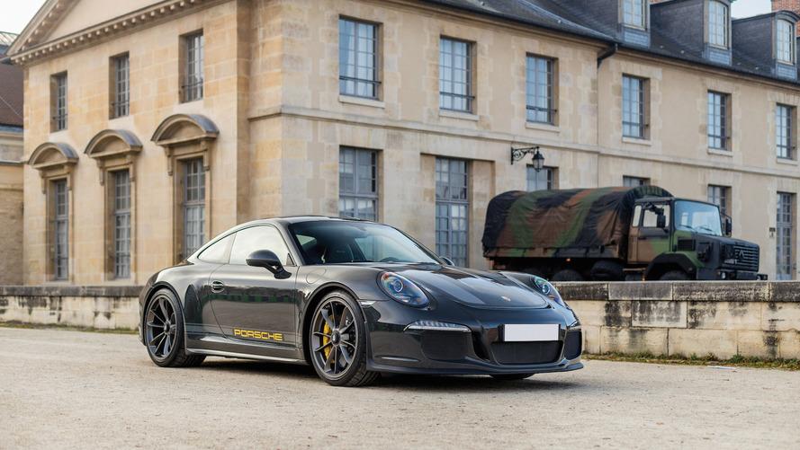 Une Porsche 911 R unique bientôt aux enchères