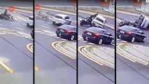 Acidente do Fiat Uno com Kawasaki Vulcan 900