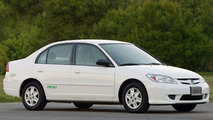 Honda Civic GX and Civic Hybrid Official Vehicles of