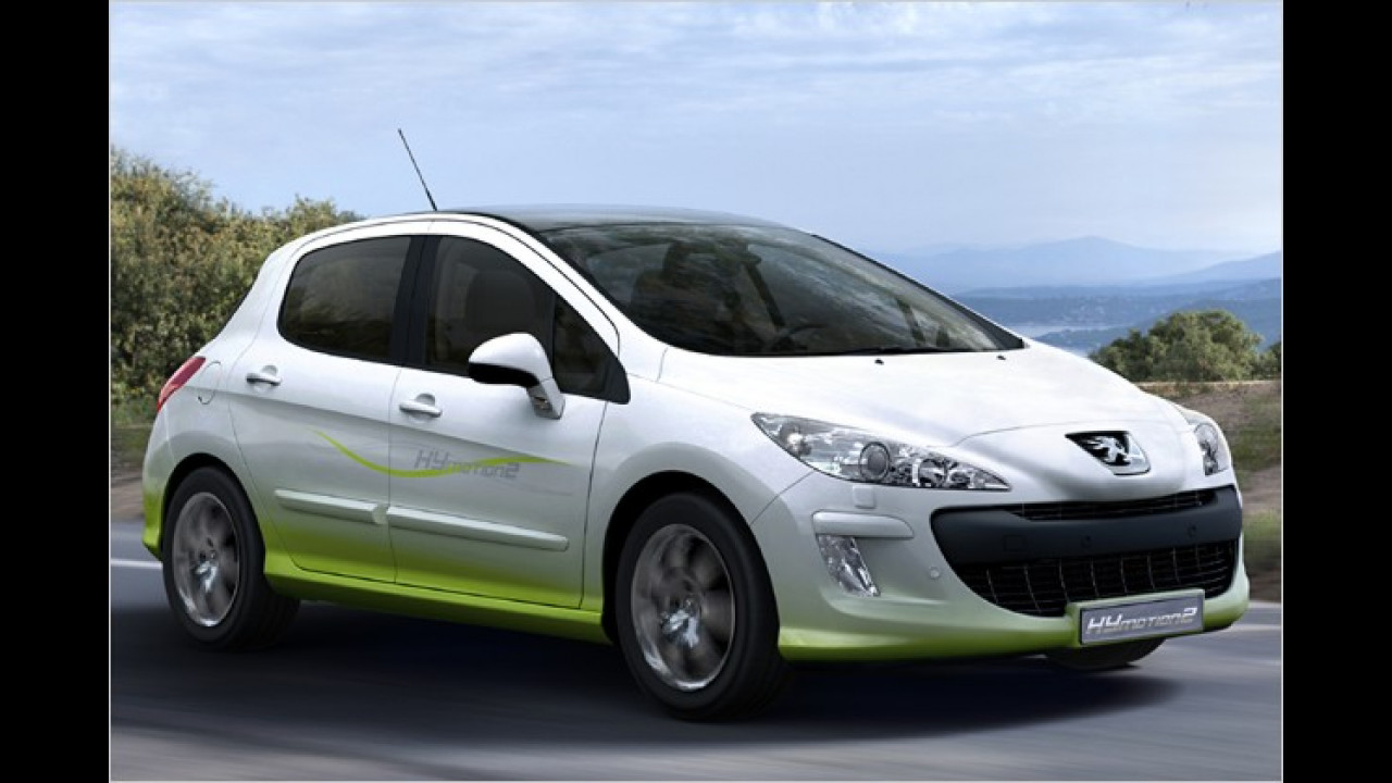 Peugeot 308 HYmotion2
