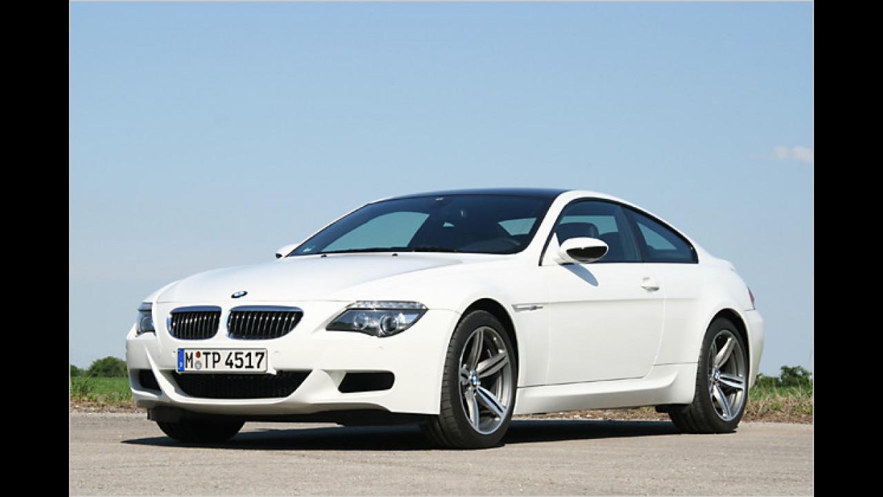 Platz 13: BMW M6 Coupé