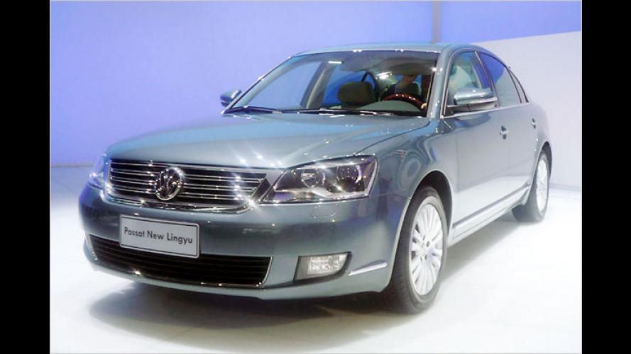 Volkswagen in Shanghai: Neue Modelle fürs Reich der Mitte