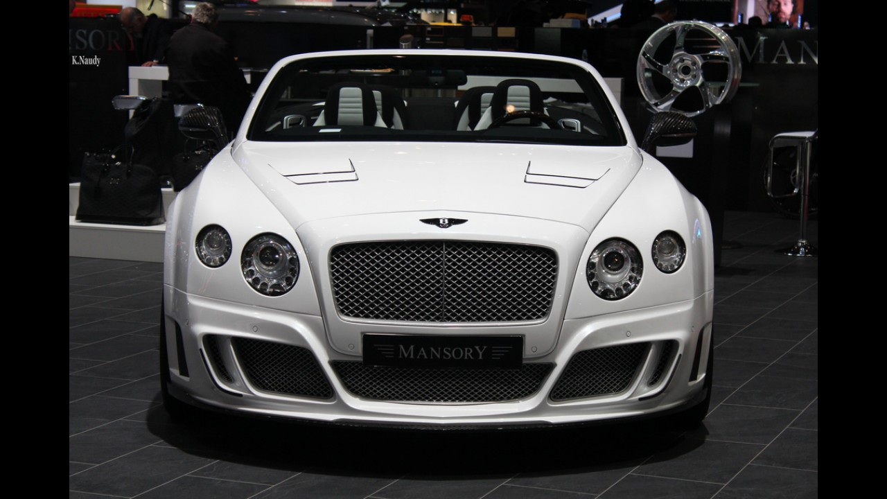 Mansory Bentley Continental GTC
