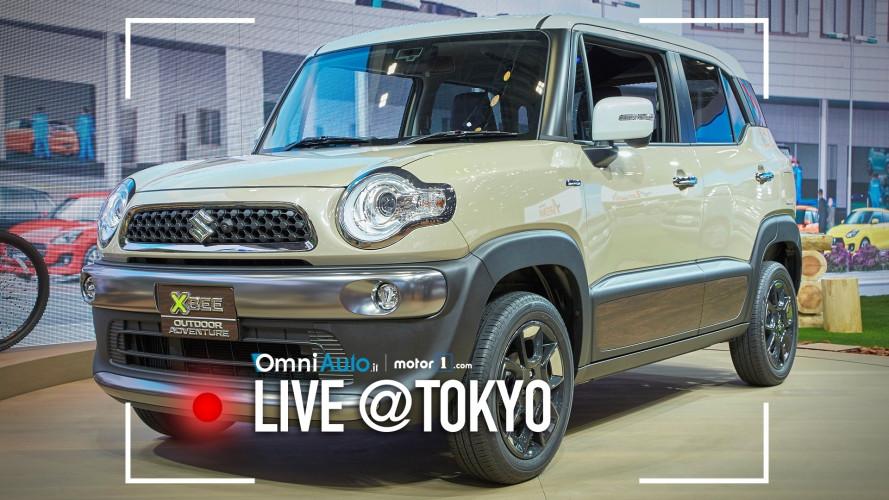 Suzuki Xbee, la concept si fa in tre