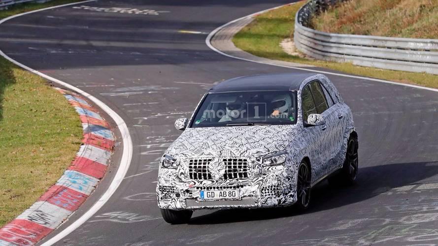2020 Mercedes-AMG GLE 63 Spy Photos