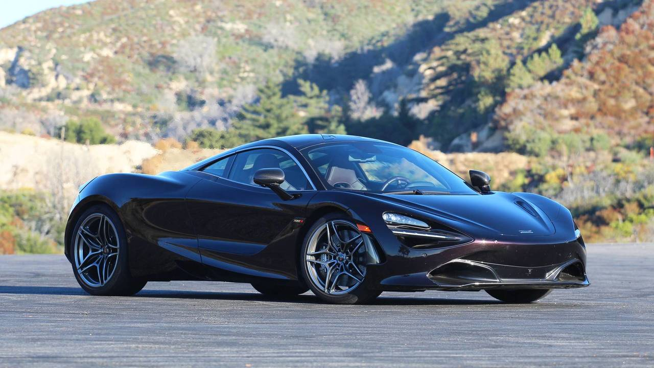 2018 mclaren 720s review photo. Black Bedroom Furniture Sets. Home Design Ideas