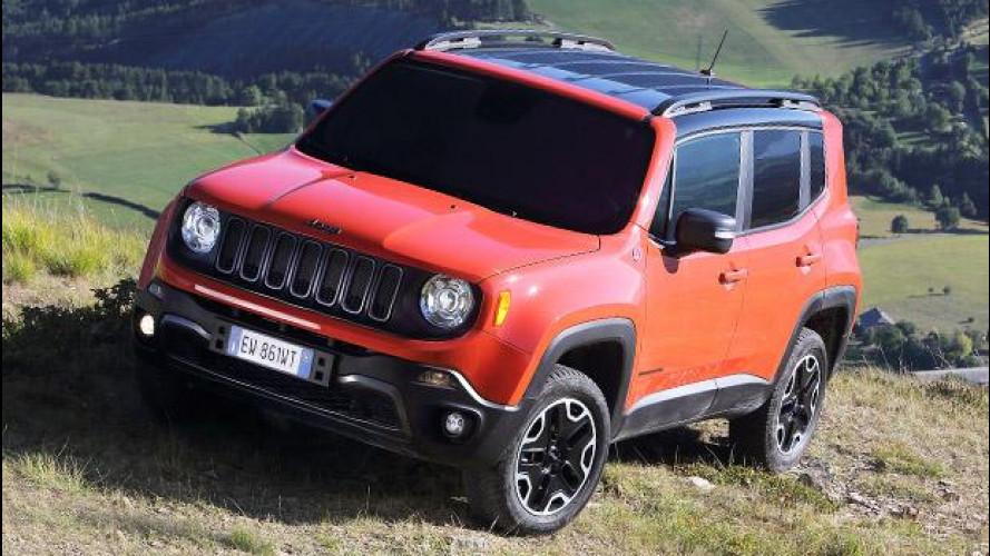 Jeep Renegade, una valanga di nuove foto