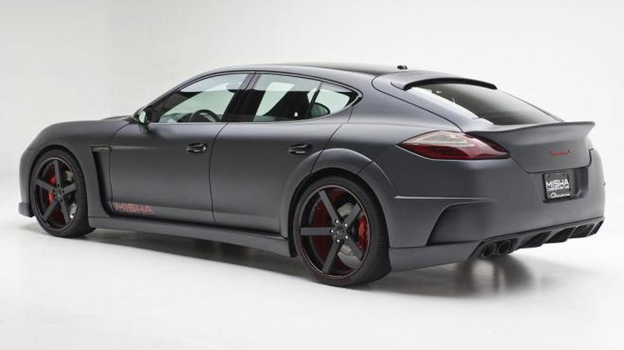 Porsche Panamera wide body kit introduced by Misha Designs
