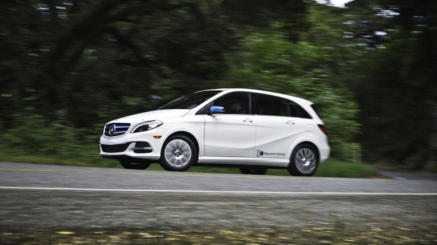 Leicester players rewarded with Mercedes B-Class Electric Drive