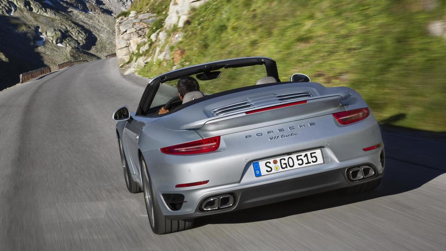 2014 Porsche 911 Turbo and Turbo S Cabriolet break cover