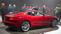 Jaguar F-Type Coupe at Los Angeles Auto Show