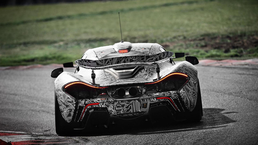 McLaren P1 GTR hits the track, will have European debut in France