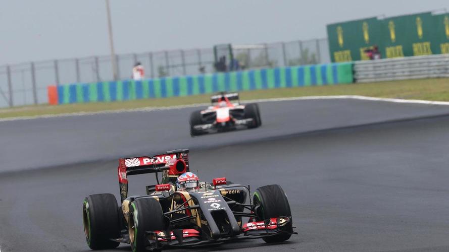 Team performance firing Lotus exit rumours - Grosjean