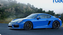 Porsche Cayman GT4 render shows what to expect