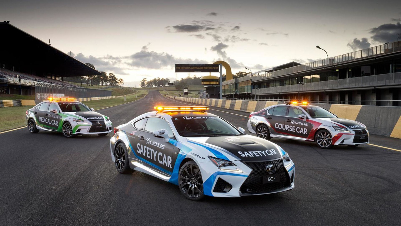 Lexus RC F Safety Car