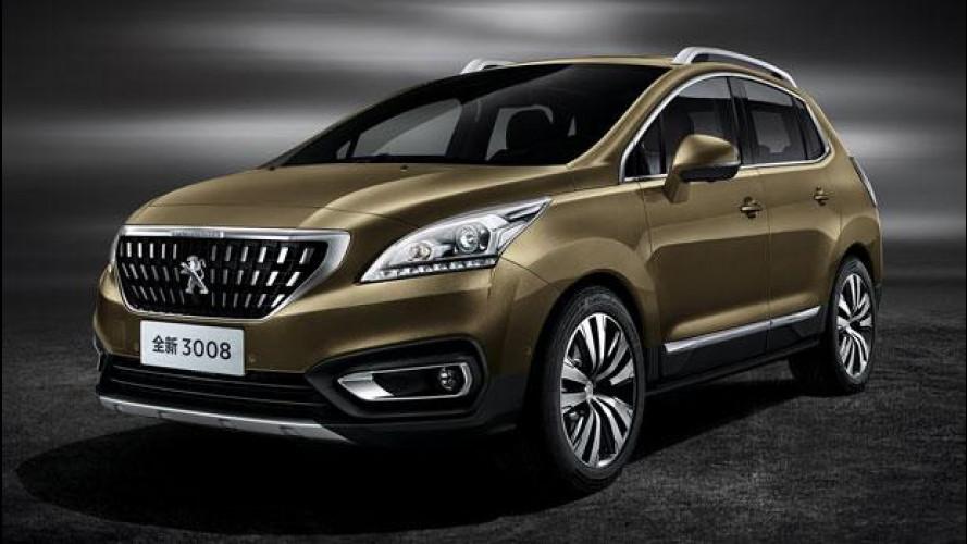 Salone di Pechino, Peugeot svela 308 Sedan e 3008