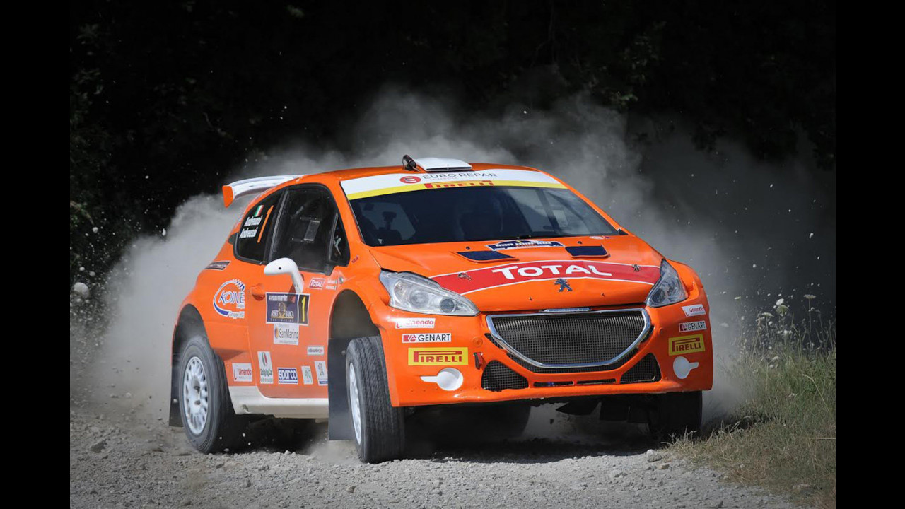 CIR 2015, a San Marino con una Peugeot 106 Rallye