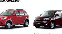 Daihatsu Terios and D-Compact Wagon