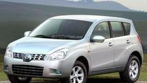Artist Impression of Nissan Qashqai Concept SUV