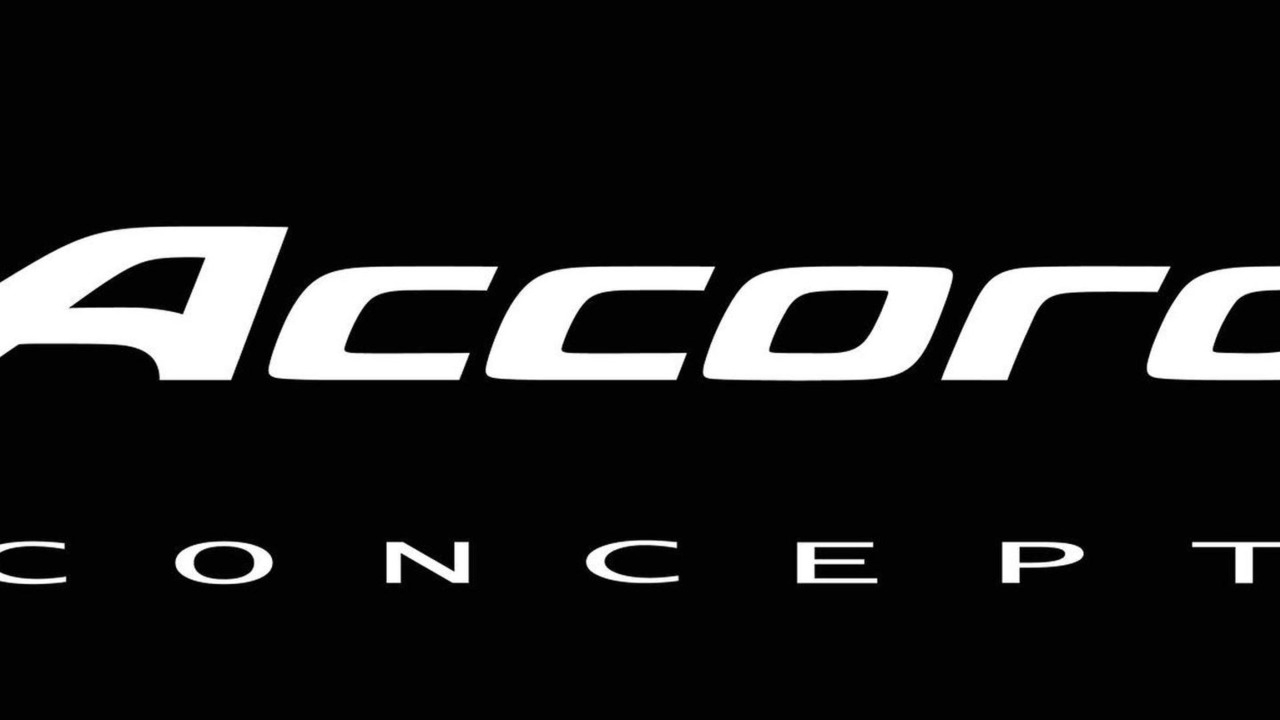 2013 Honda Accord Coupe Concept Badging