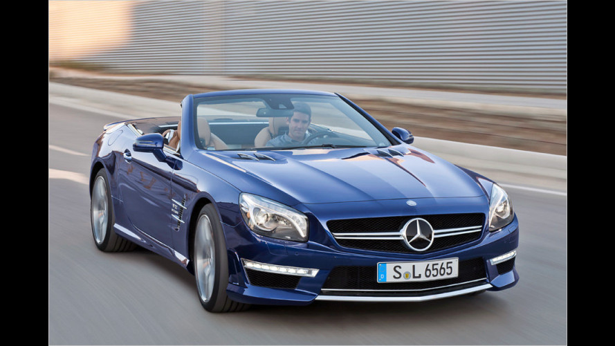 Over the top: SL 65 AMG