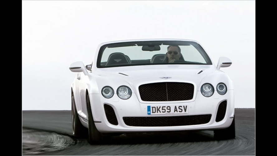 Continental Supersports: Das schnellste Bentley-Cabrio