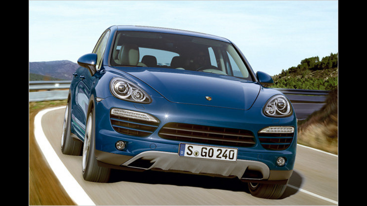 Porsche-SUV: Jetzt V6