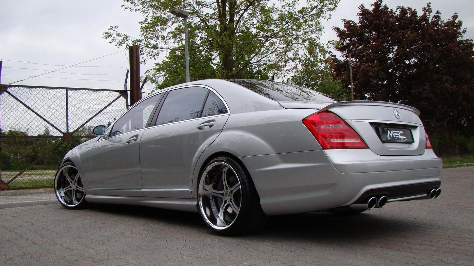2007 S550 For Sale >> MEC Design gives S65 AMG makeover to pre-facelift S-Class plus mecxtremeIII wheels