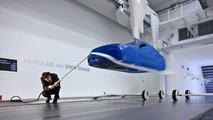 BMW model wind channel Aerodynamic Testing Centre