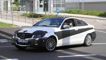 2012 Mercedes C-Class Coupe spy photo