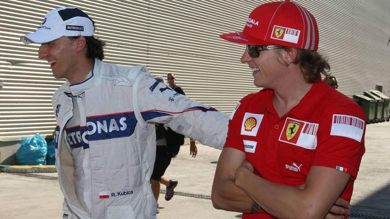 Robert Kubica & Kimi Raikkonen
