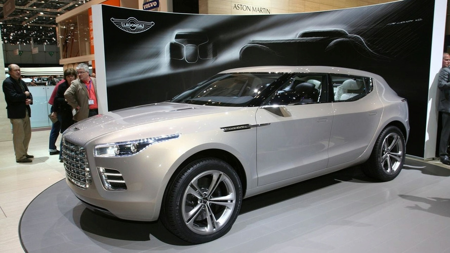 Aston Martin Lagonda SUV could ride on the Mercedes-Benz GL platform