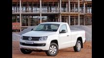 Volkswagen Amarok é lançada na Europa em versão com cabine simples