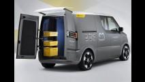 Elétrico: Volkswagen eT! Concept 2011 visa revolucionar os serviços de logística