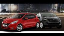 Peugeot lança site para comparar 208 e 2008 com principais rivais