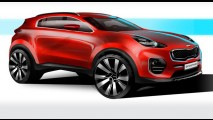 Revelado: novo Kia Sportage 2016 é pego sem camuflagem
