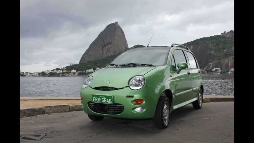 Chery passa a oferecer garantia de cinco anos para os modelos QQ e S18 no Brasil