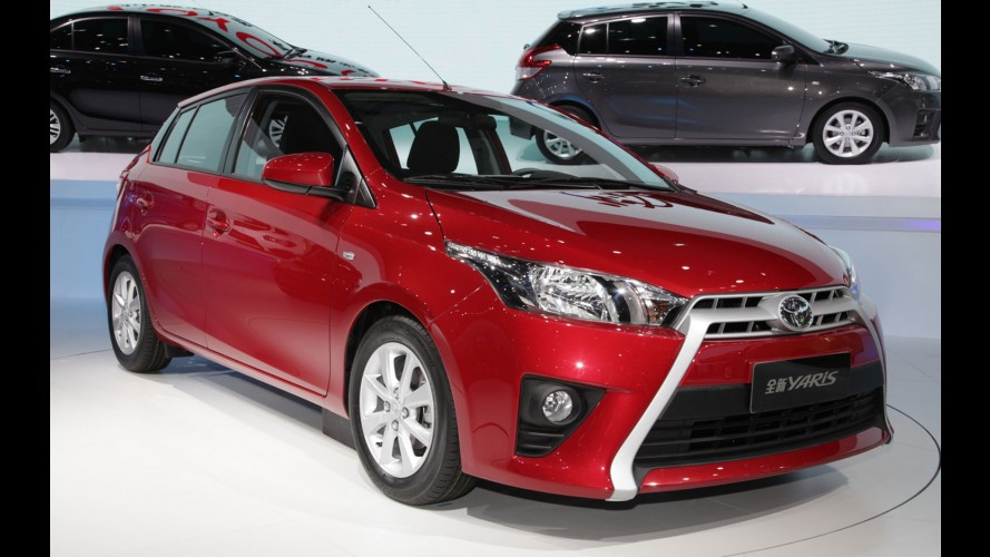 Hatch do Vios, novo Toyota Yaris pode chegar ao Brasil em 2014