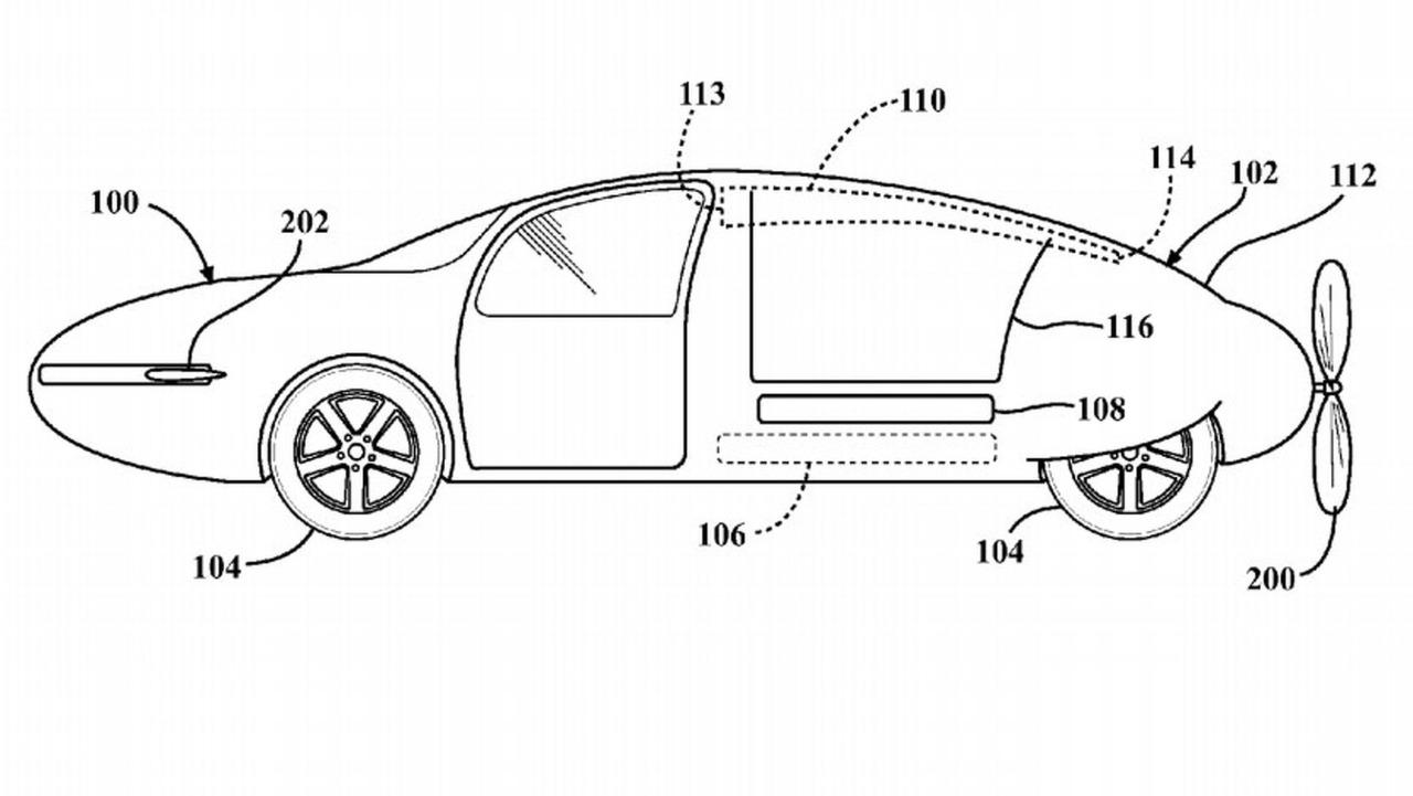 Toyota Flying Car Patent