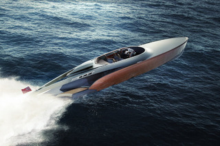 Luxury Powerboat Will Use Legendary Rolls-Royce Merlin Engine