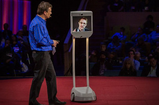 2-MPH Robot Allows Edward Snowden to Be in Two Countries at Once