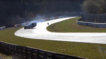 Renault Megane RS crash at the Nürburgring