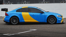 Volvo S60 Polestar WTCC Art Car created by Swedish prince revealed for Goodwood