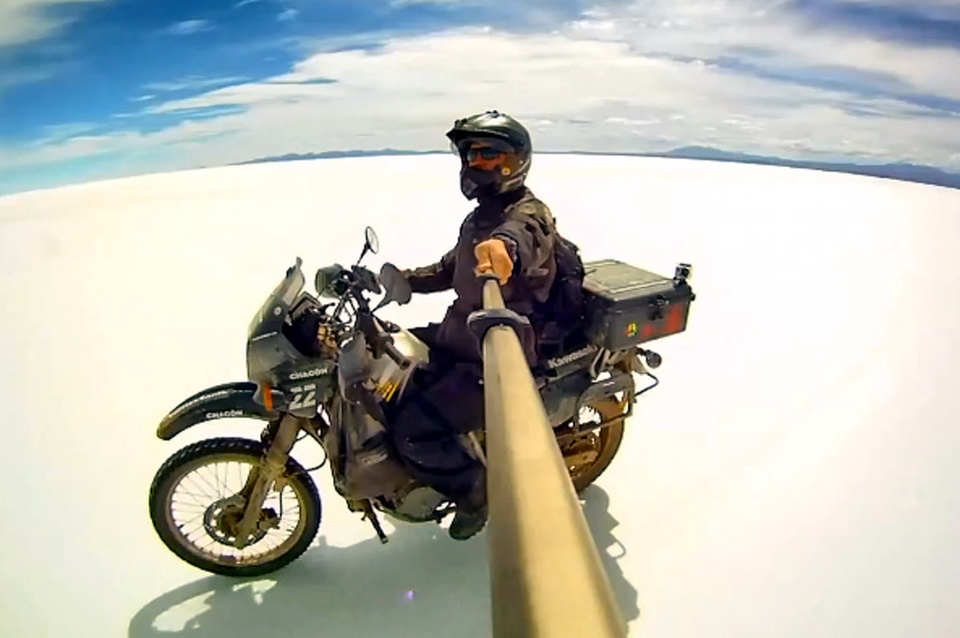 Video: Modern Motorcycle Diaries Follows Che's Footsteps